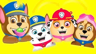 Paw Patrol Radz Surprises Candy Dispensers and Puppy Dog Pals Bingo Slime
