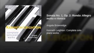 Sonata No. 1, Op. 2: Rondo: Allegro molto e ritmico