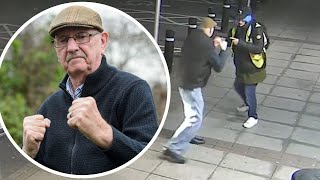 Meet Trevor, the hero pensioner who fought off his would be robber