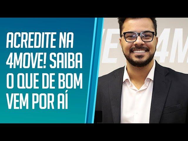 Direto da sede: (LIVE) Julio Cesar, CEO da 4Move conta o que podemos aguardar de bom para o futuro