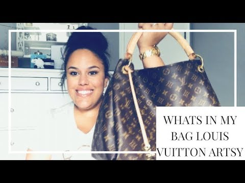 34a5816d3e808 WHATS IN MY BAG - LOUIS VUITTON ARTSY! - YouTube