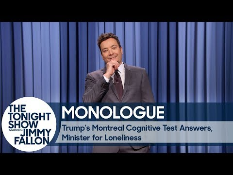 Download Youtube: Trump's Montreal Cognitive Test Answers, Minister for Loneliness - Monologue