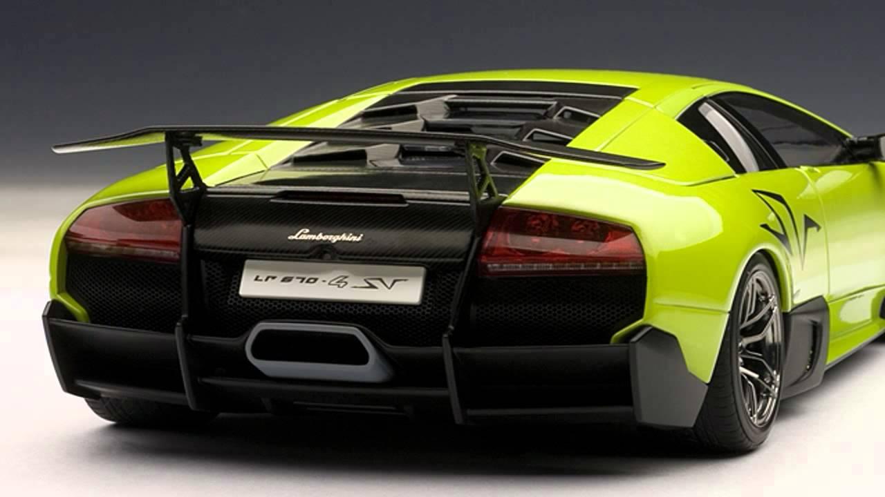 Autobarn Models 1 18 2010 Lamborghini Murcielago Lp670 4 Sv In