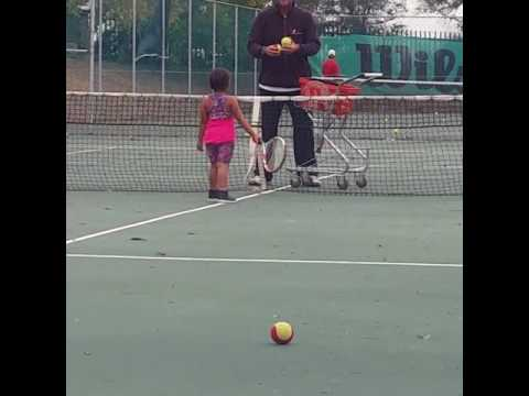 #SinazoNdube #4yrsold #tennis