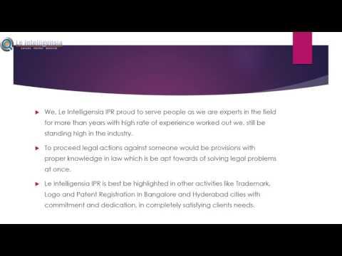 Le Intelligensia IPR Copyright Registration In Bangalore