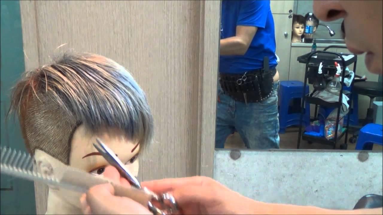 HairCut Tutorials Mohawk Two Block Style YouTube