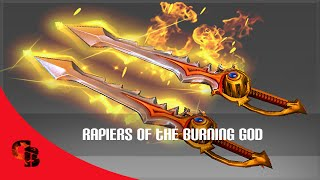 Dota 2: Store - Ember Spirit - Rapiers of the Burning God [Immortal]