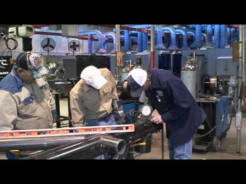 TSTC Welding Technology  Advanced Layout and FAB  YouTube