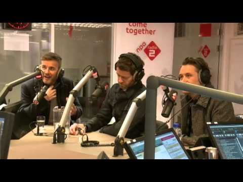 Take That on Radio 2 Holland