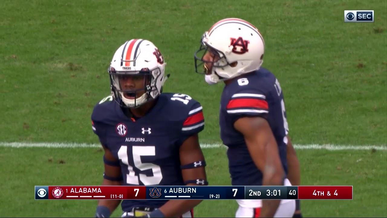 Auburn Football Vs Alabama Highlights Youtube
