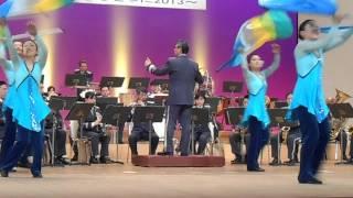 2013年2月9日(土)に行われた千葉県警察音楽隊 カラーガード隊 「美しく青...