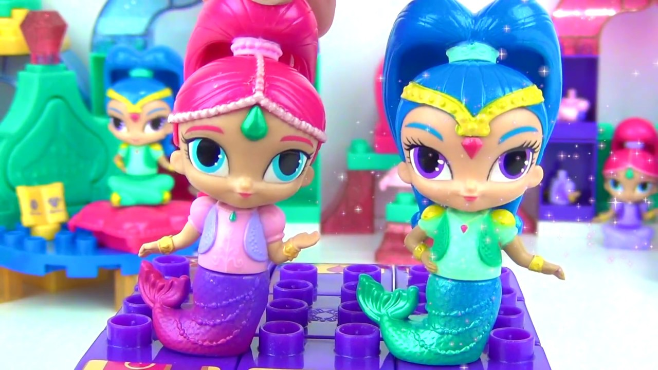 Download SHIMMER and SHINE Megabloks Full Set, Build Genie Magic Outfit
