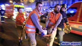 Памяти Парижан-фото с места трагедии Париж Франция