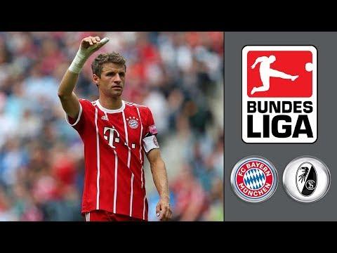 FC Bayern München vs SC Freiburg ᴴᴰ 14.10.2017 - 8.Spieltag - 1. Bundesliga | FIFA 18