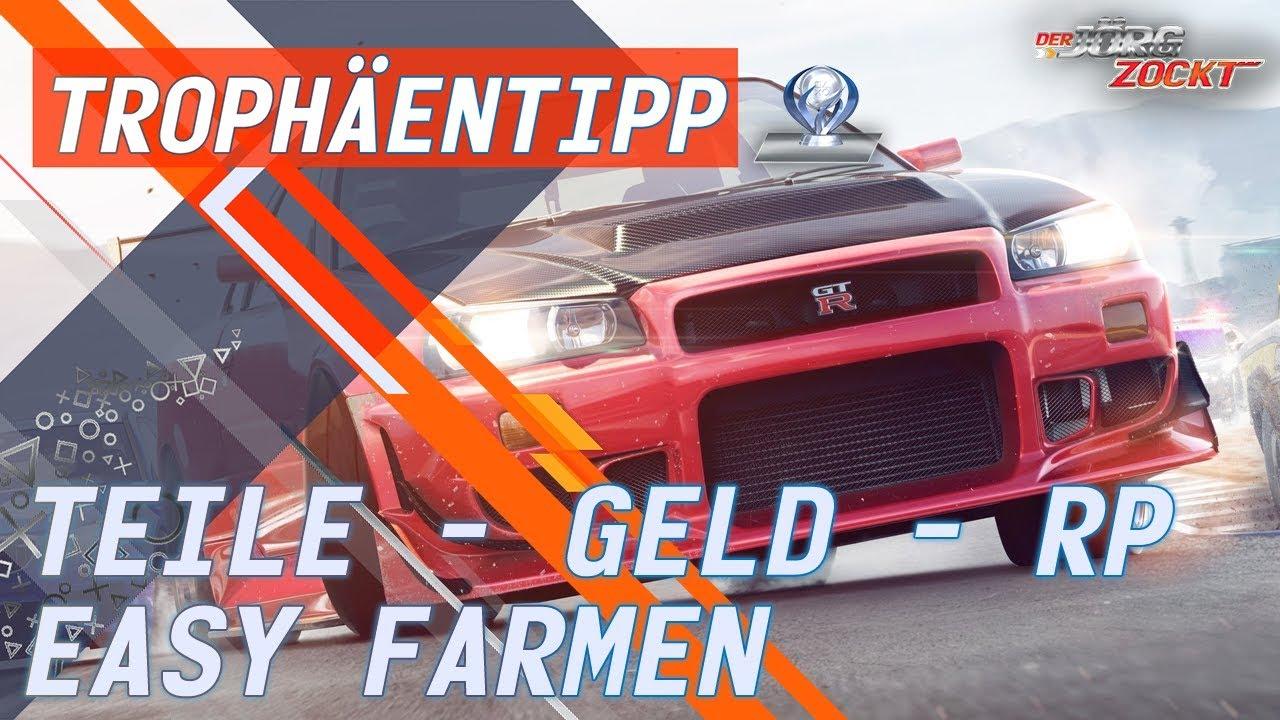 Need for Speed Payback - Geld, Teile und RP einfach farmen [German ...