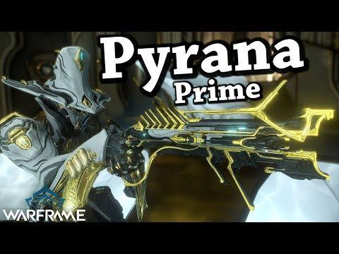 Warframe | Pyrana Prime (2 Forma Build)