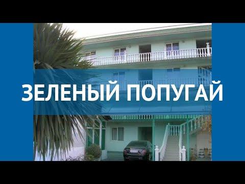 ЗЕЛЕНЫЙ ПОПУГАЙ 2* Россия Сочи обзор – отель ЗЕЛЕНЫЙ ПОПУГАЙ 2* Сочи видео обзор