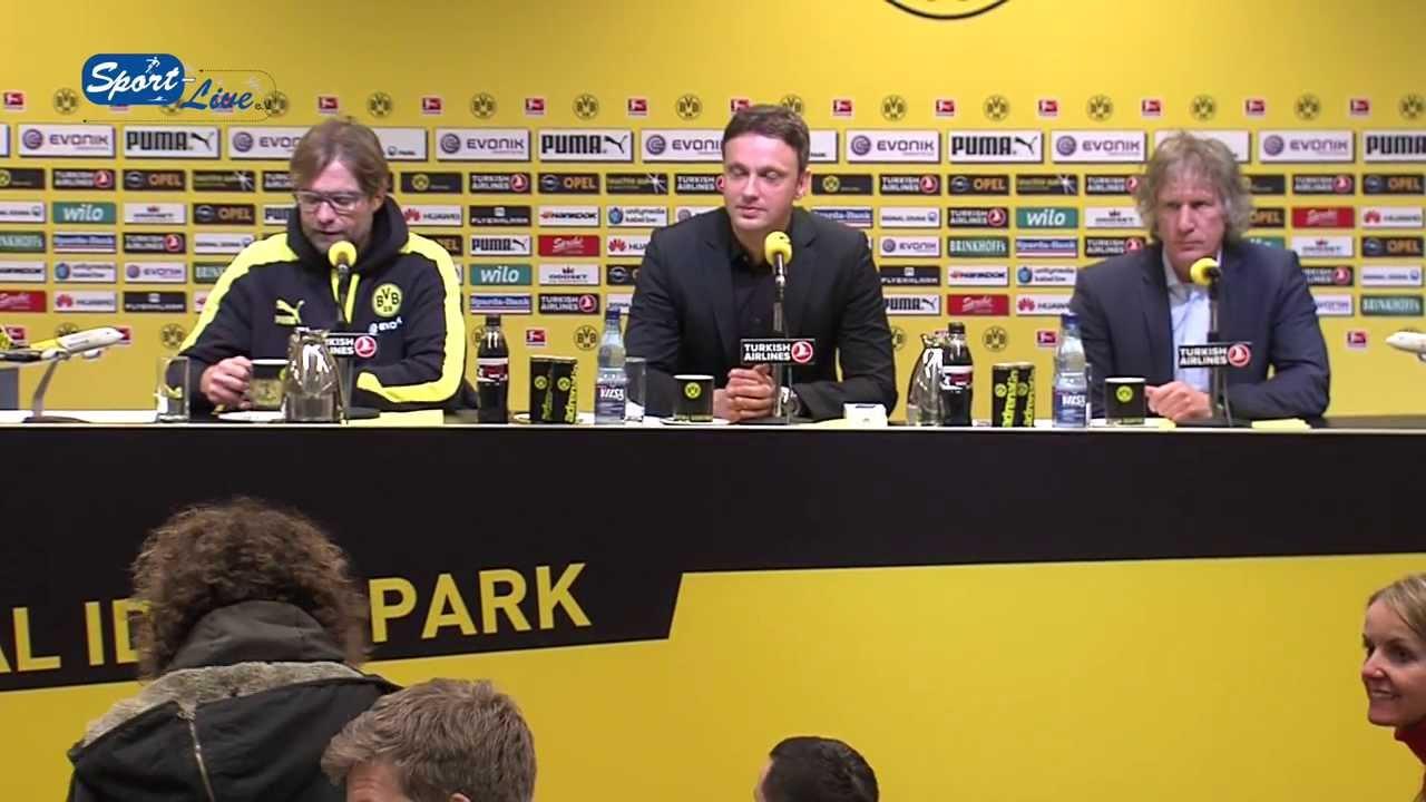 BVB Pressekonferenz vom 1. März 2014 nach dem Spiel Borussia Dortmund gegen den 1. FC Nürnberg