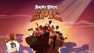 Angry Birds Epic - Blue key part 1  - Universal - HD Gameplay