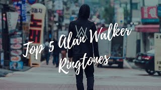 Top 5 Alan Walker Faded Ringtones/Faded( Insider Music HD )