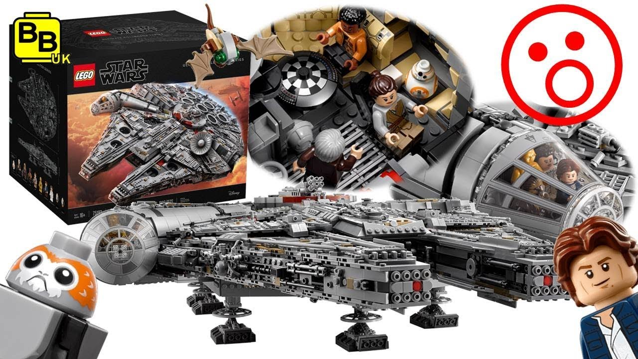 our thoughts on the lego star wars ucs 75192 millennium. Black Bedroom Furniture Sets. Home Design Ideas