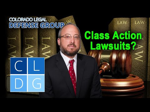 Class action lawsuits in Colorado – How to put one together