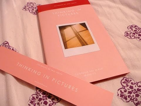 Paul Smith - Thinking In Pictures & Margins book/CD unboxing