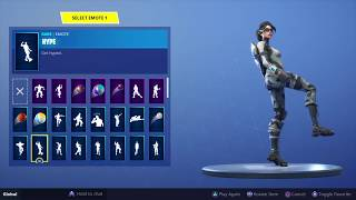 All my fortnite dances with Arctic assassin sorry for not uploading in a while
