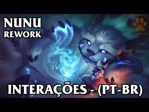Nunu (Rework 2018) Interações - Dublado (PT-BR)