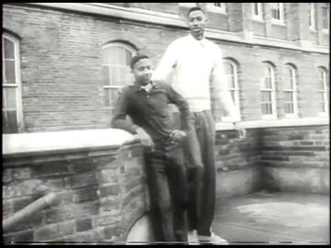 Young Wilt Chamberlain Highlights (History's Playlist)