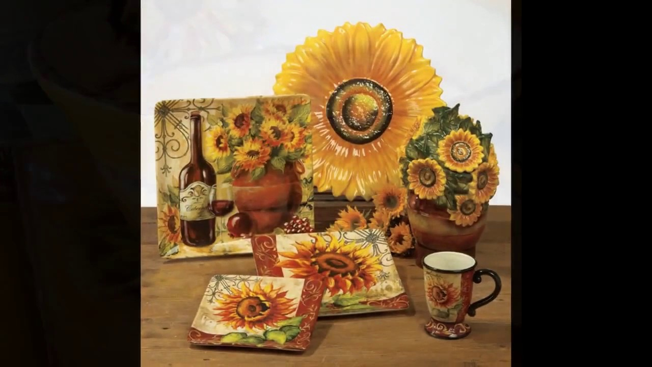 Girasol ideas de decoración de la cocina - YouTube