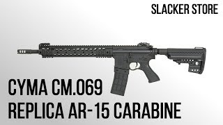 [CYMA][REVIEW CM.069], AR-15 CARABINE, NEW SERIES