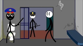 Stickman Jailbreak 1 & 6 By (Dmitry Starodymov) & Escape the Prison By (Ber Ber) Games Video