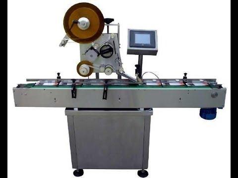 Plane Labeling Machine Automatic Self Adhesive Box Labeler