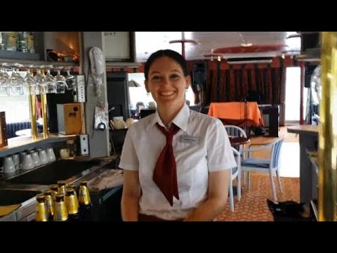 Bar and Restaurant aboard the MS Der Kleine Prinz Cruise Ship