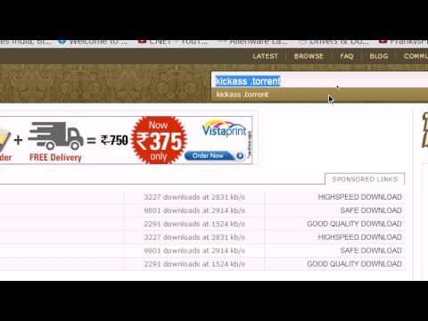 How To Download Free Torrent Movies,Music,Games,Software's Etc. (INDIA)