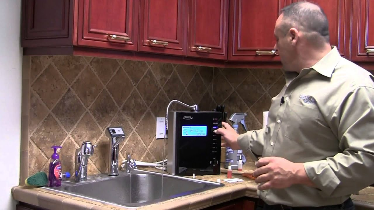 installation dvd for the chanson miracle m.a.x. water ionizer