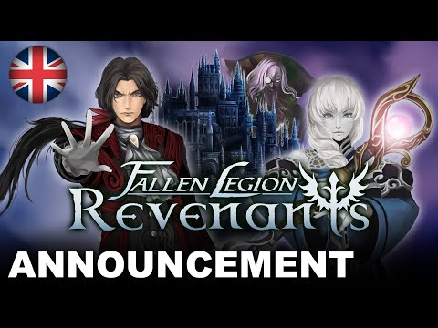 Fallen Legion Revenants - Announcement Trailer (PS4, Nintendo Switch) (EU - English)