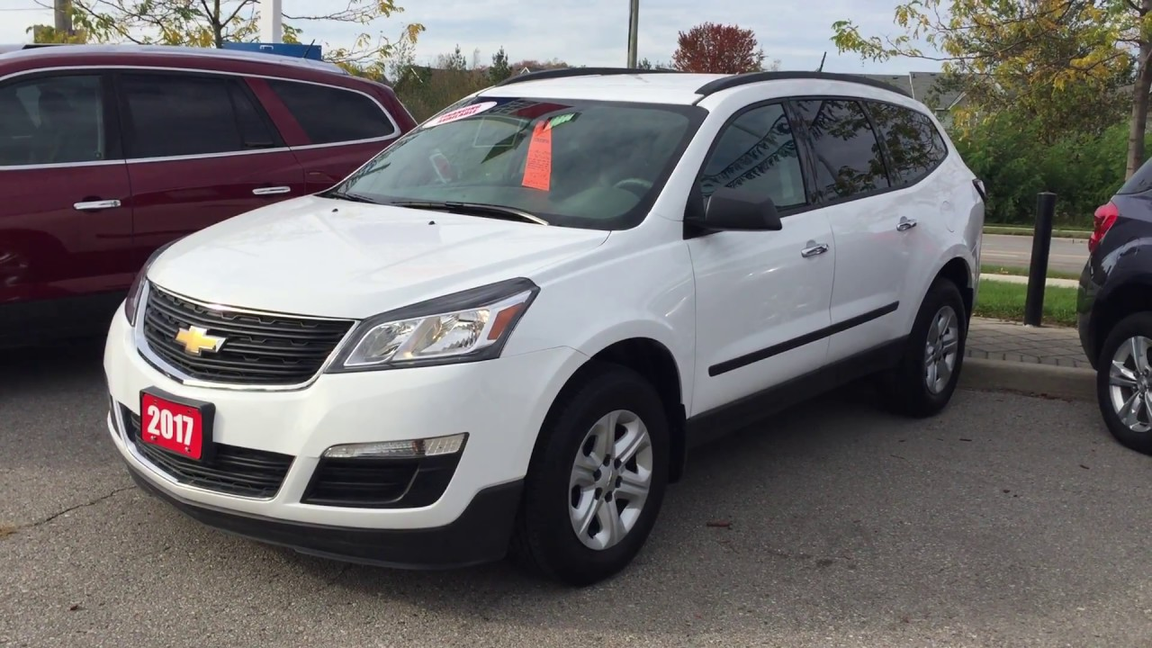 2017 Chevrolet Traverse Ls Awd Summit White Roy Nichols