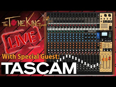 The TASCAM Model 24 – The Tone King Review