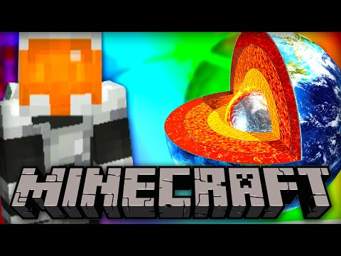 JOURNEY TO THE CENTER OF THE EARTH IN MINECRAFT!