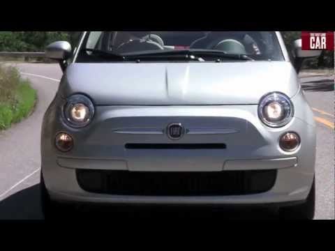 2012 Fiat 500 convertible raw and unleashed in the Rocky Mountains