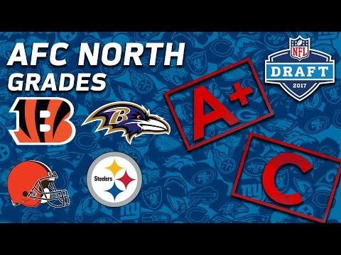 Steelers, Ravens, Bengals, & Browns | AFC North 2017 NFL Draft Grades | NFL NOW