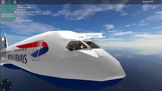 |ROBLOX| SFS Flight Simulator *BA 197* 787-9 Dreamliner (LHR - IAH) Part 2