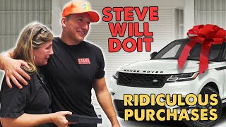 STEVEWILLDOIT Craziest Purchases | (NELK)