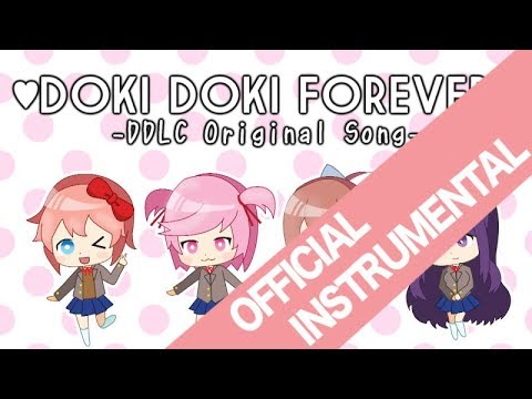 【Doki Doki Literature Club Song】Doki Doki Forever (INSTRUMENTAL)