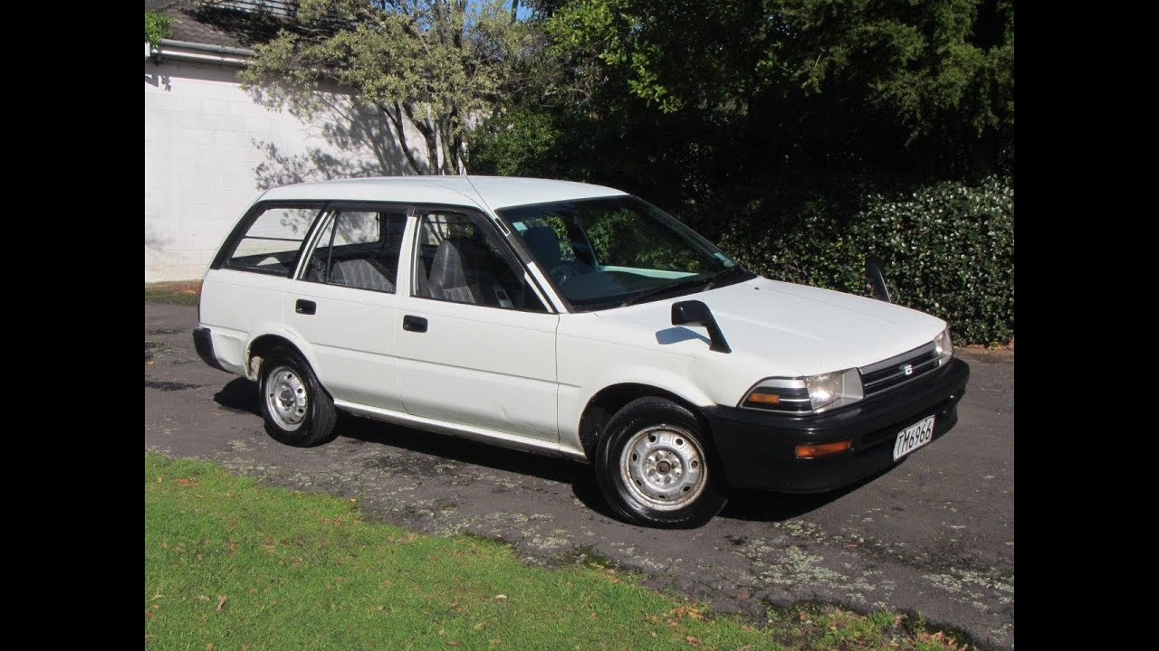 1990 toyota corolla manual diesel station wagon 1 reserve. Black Bedroom Furniture Sets. Home Design Ideas