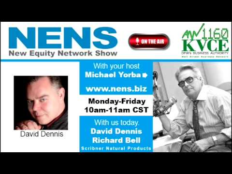 David Dennis-Richard Bell, Scribner Natural Products, Seg. 2 6/5/15 New Equity Network Show