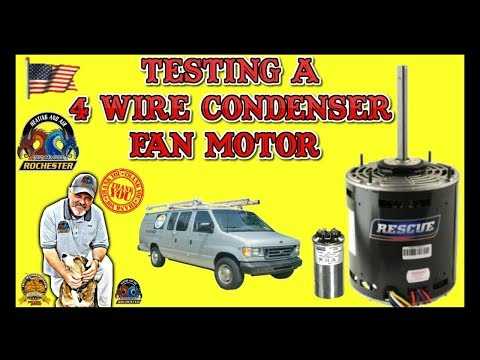 Testing a 4 Wire Condenser Fan Motor | Louisville Kentucky Air Conditioner Repair
