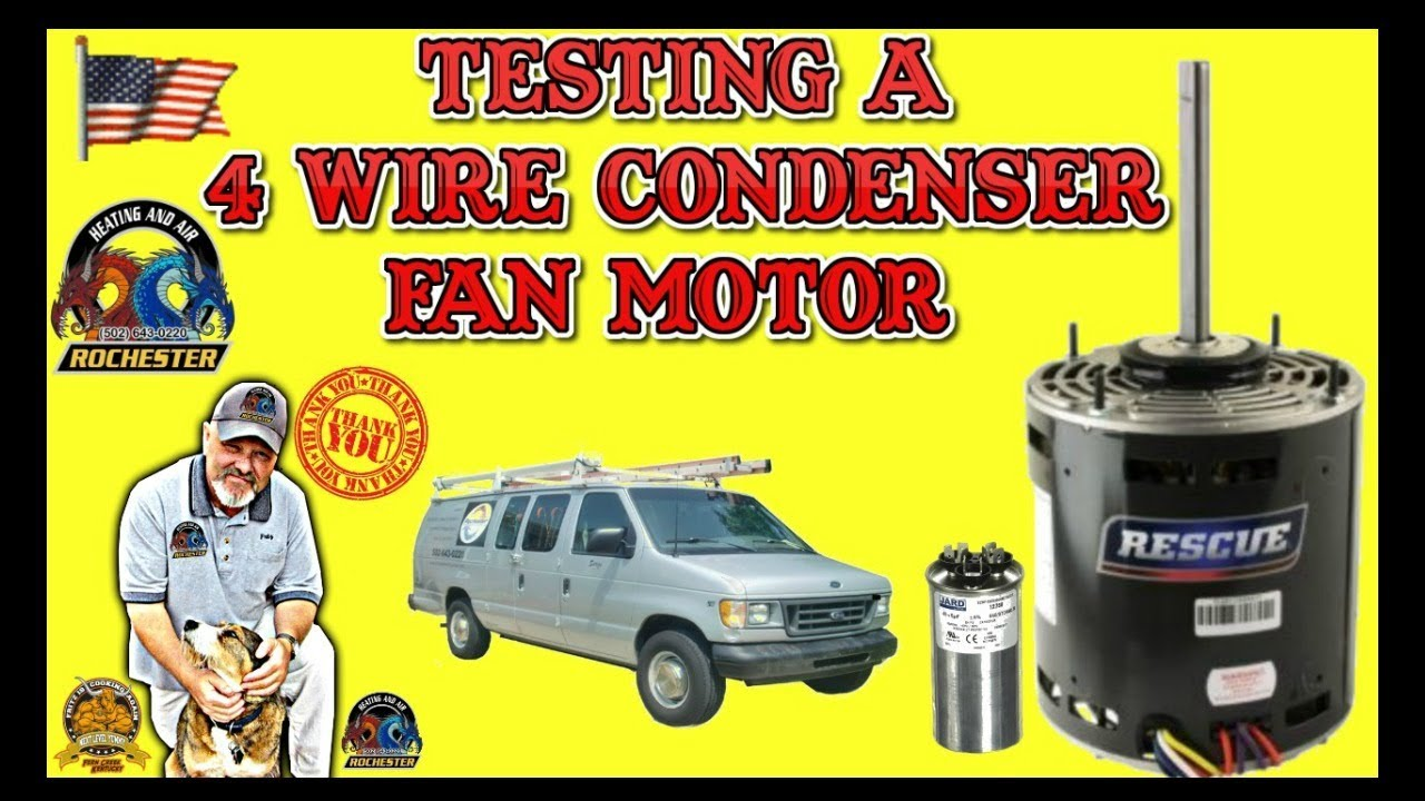small resolution of testing a 4 wire condenser fan motor louisville kentucky air conditioner repair